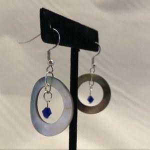 Handmade shell earrings